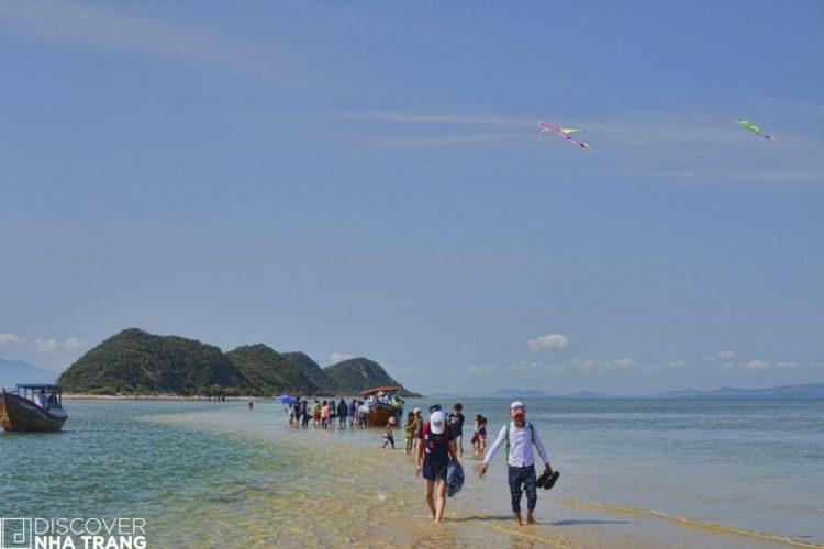 Sandbar at Diep Son Island - Nha Trang