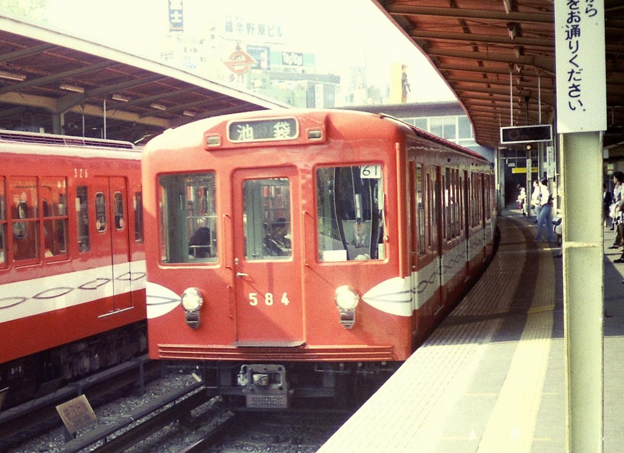営団地下鉄500系(初期車)