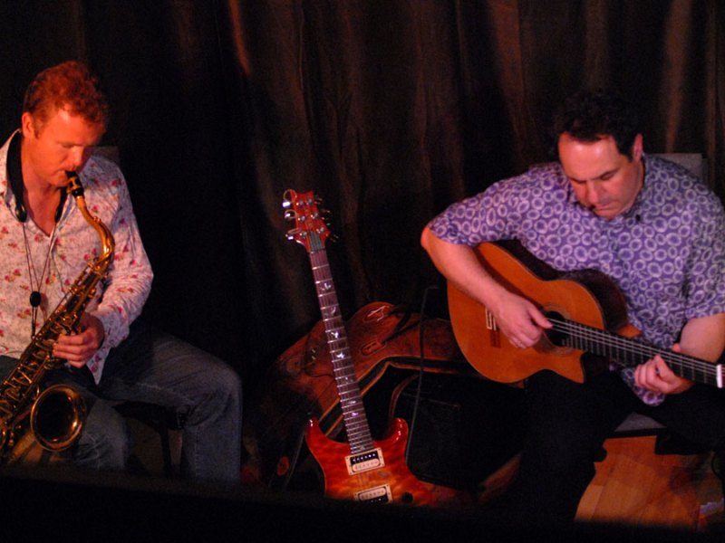 Events | An intimate evening of jazz from Iain Ballamy & John Parricelli | 8/7/08