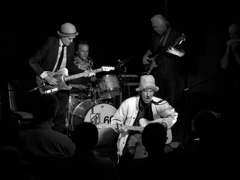 Events | Legends of British Blues Martin Stone & Friends play the Goldmark Front Room | 10/6/11