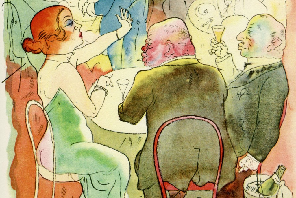 'Ecce Homo' Lithographs by George Grosz