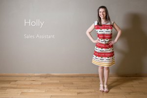 Goldmark Gallery Sales Assistant Holly