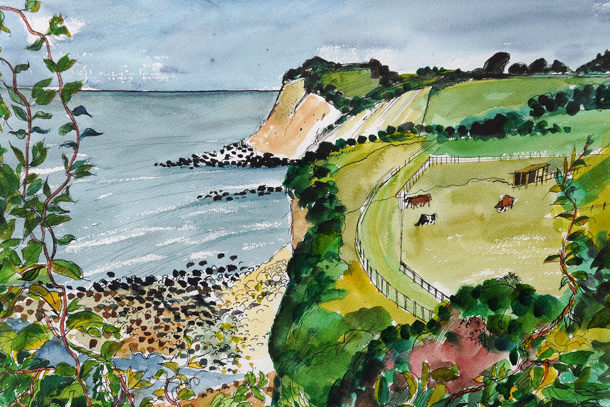 Rigby Graham Isle of Wight Watercolour