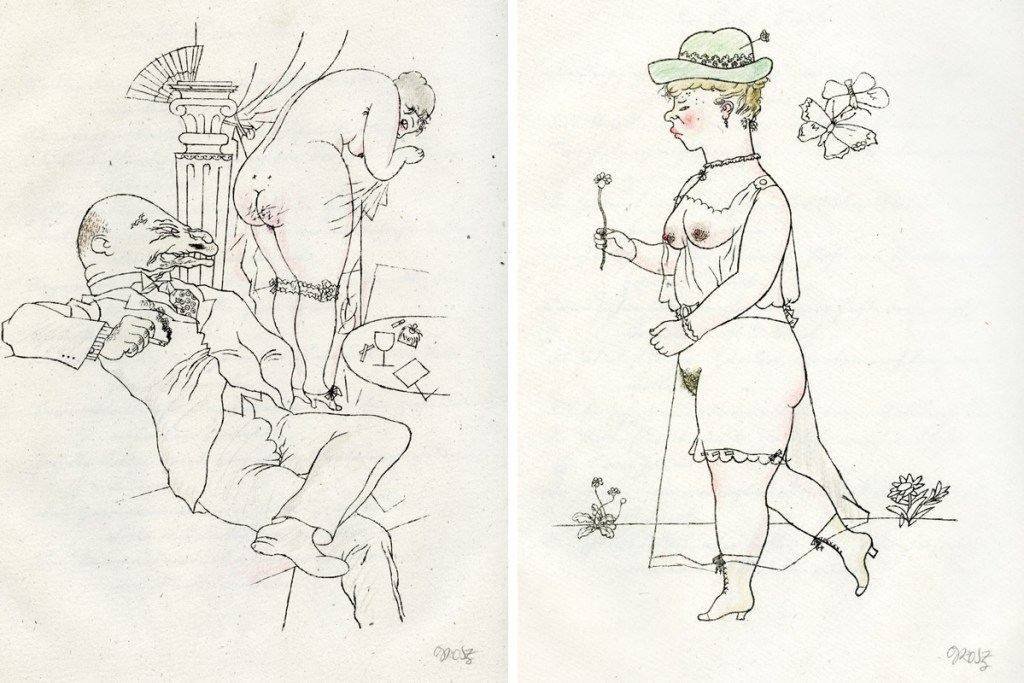 george-grosz-munkepunke-two-lithographs