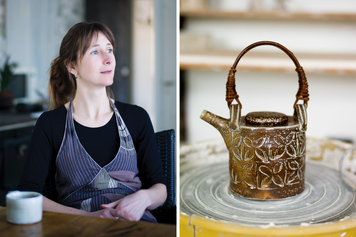 Anne-Mette-Hjortshoj-Oval-Teapot-and-Portrait