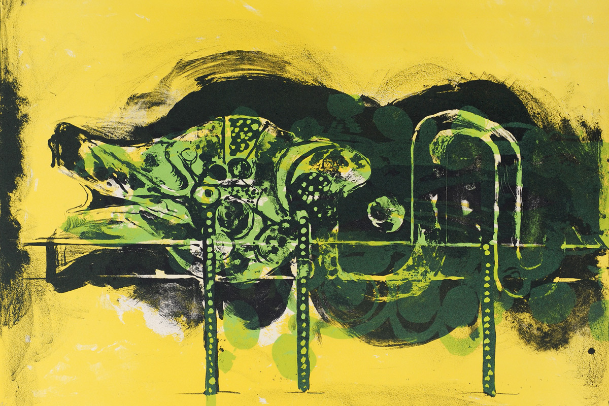 Graham-Sutherland-Submerged-Form-Lithograph