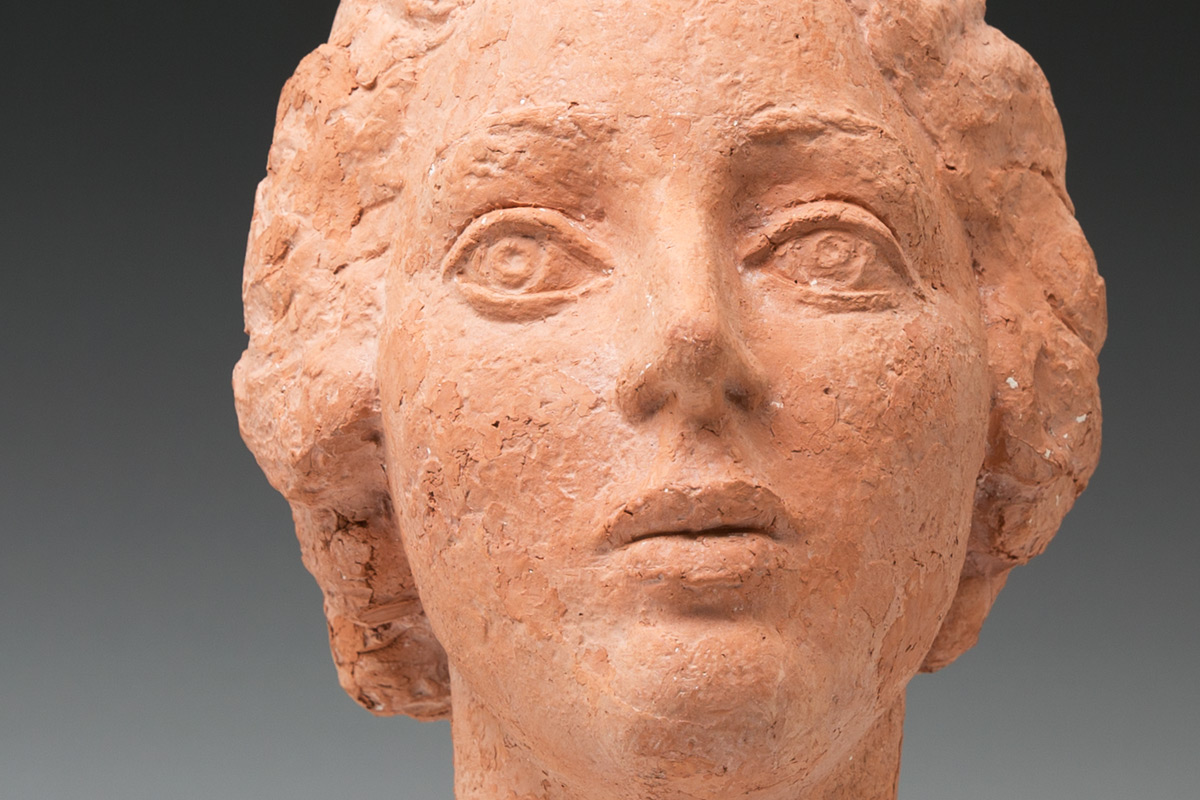 Frank-Dobson-By-Andrew-Lambirth-Auriol-Salaman-Terracotta-Detail