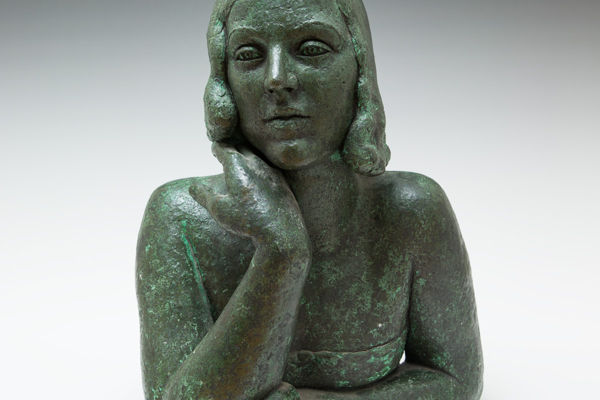 Frank-Dobson-By-Andrew-Lambirth-Lady-Dorothea-Ashley-Cooper-Bronze