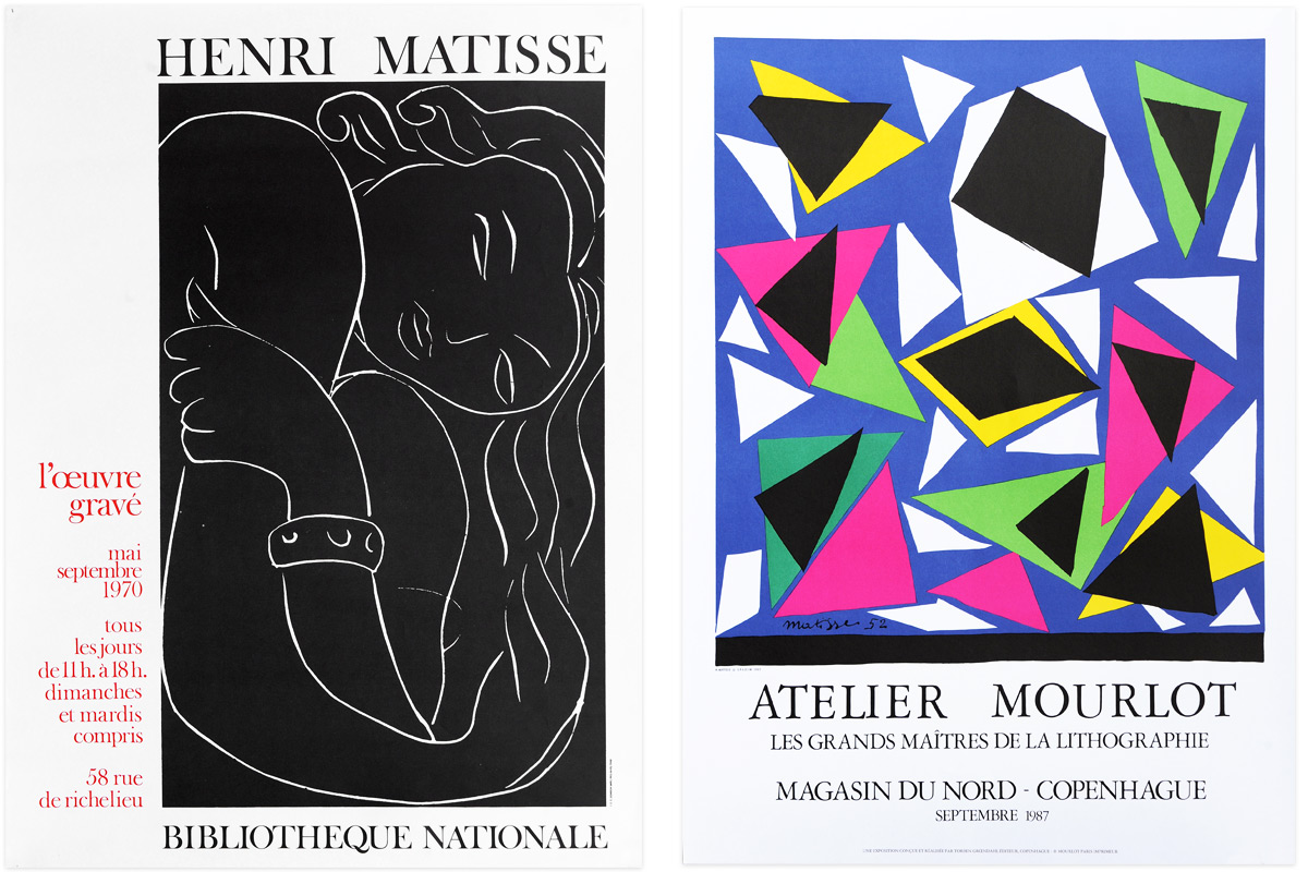 Henri-Matisse-Exhibition-Artists-Posters