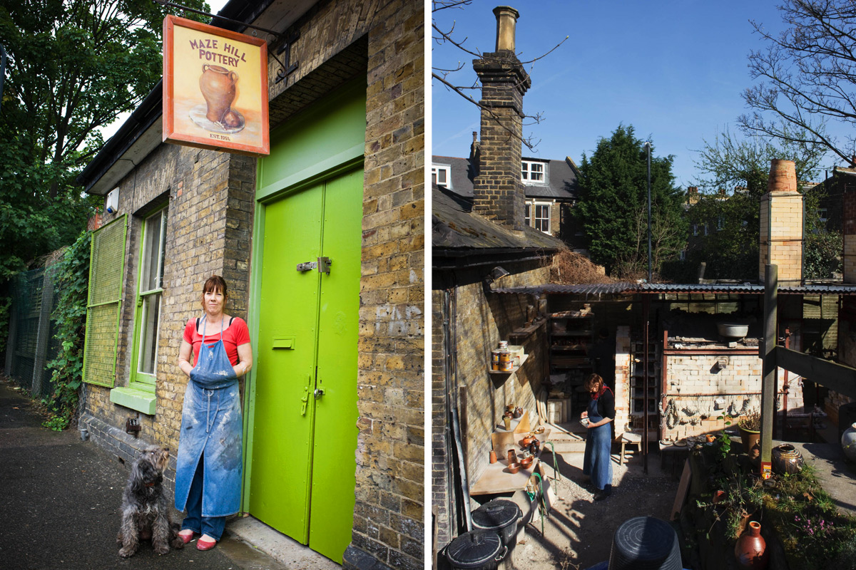 Lisa-Hammond-Studio-Tour-Mazehill-Pottery-Entrance