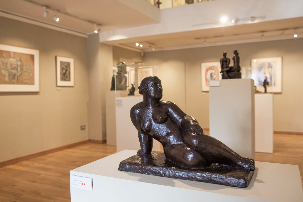 Weekly-Roundup-Frank-Dobson-Exhibition-Space-Gallery-Front-Room