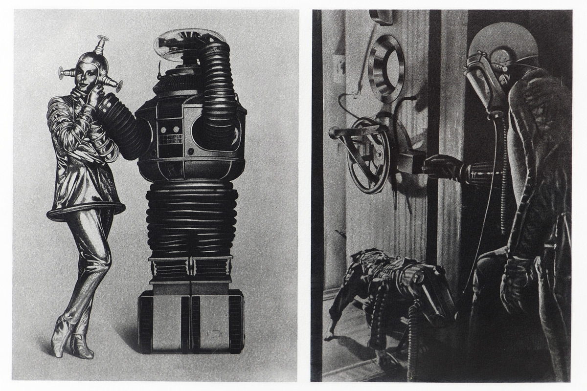 Eduardo-Paolozzi-Cloud-Atomic-Laboratory-Television-Series-Lost-in-Space-and-Soviet-Dog-and-Man-Exit-Space-Chamber