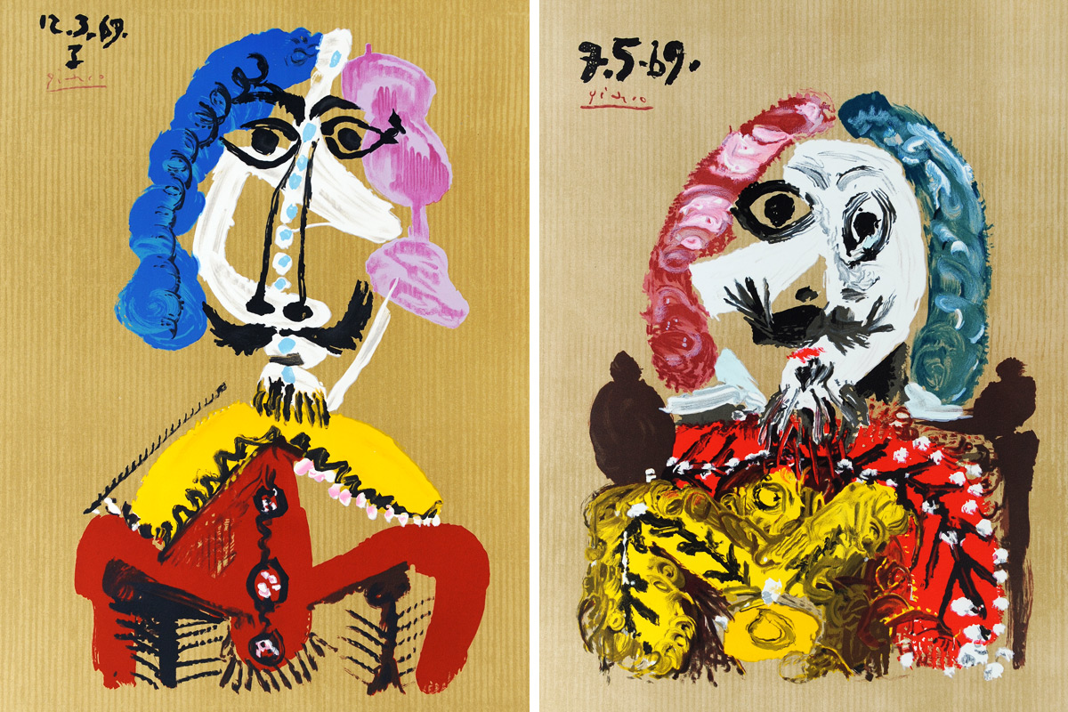 Picasso-Portraits-Imaginaires-12.3.69-and-7.5.69