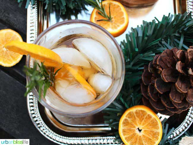 Rosemary Citrus Old Fashioned Fall Cocktails: Recipes for the Perfect Drink