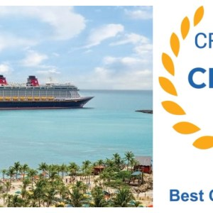 Disney's Castaway Cay the Best Cruise Line Private Island for the Third Year in a Row