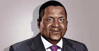 Dangote, President, Dangote Group. Impression courtesy of CNBC