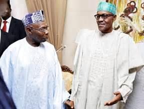 L-R Obasanjo and Buhari