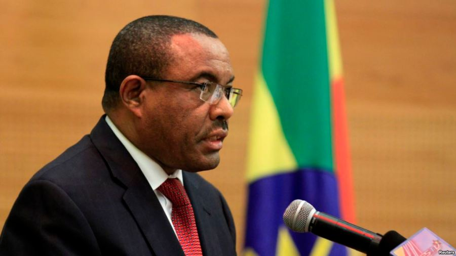 Ethiopia Prime Minister, Hailemariam Desalegn