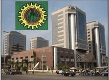 NNPC Headquarters in Abuja. Opposition party alleges plan to increase fuel price