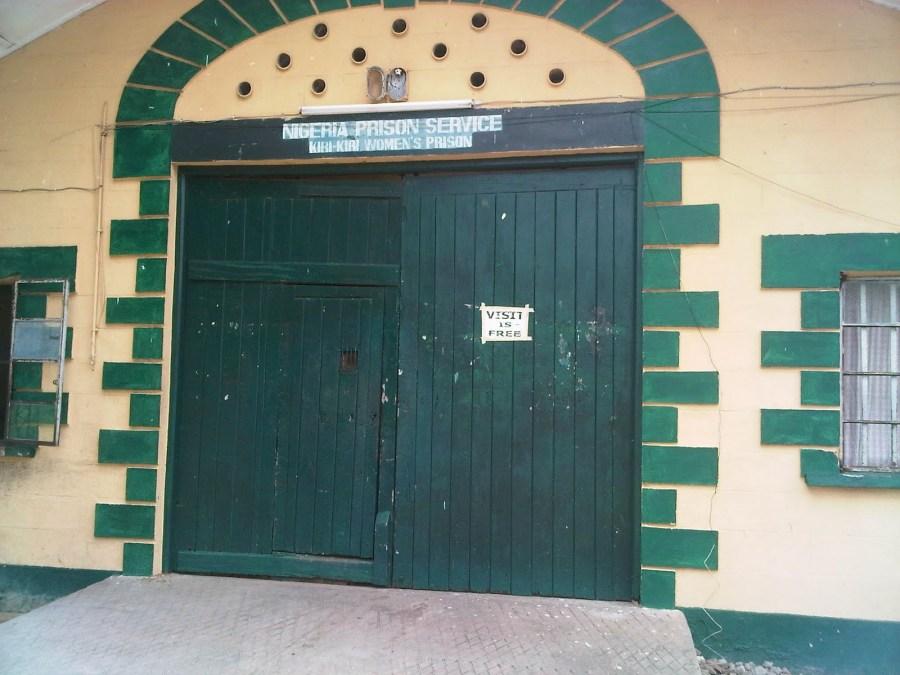 A part of Kiri Kiri Prison, Lagos, Nigeria