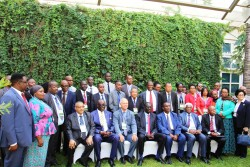 Group photograph of participants at the just concluded UCLG meeting on April 10th