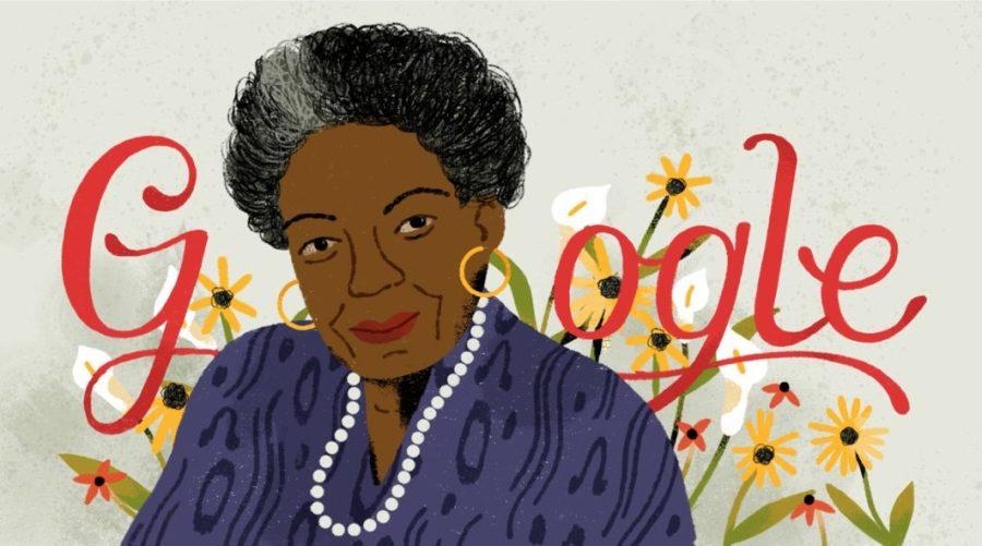 Maya Angelou's Google Doodle