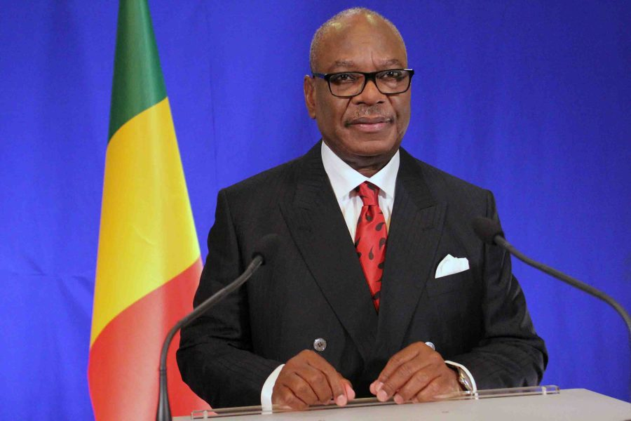 Mali President, Ibrahim Keita