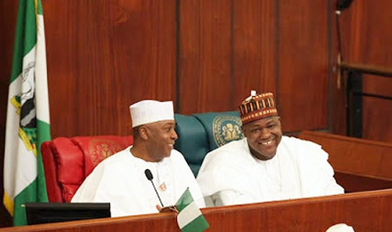Senate President BUKOLA Saraki and Speaker of the House, Yakubu DOGARA defend changes in 2018 budget