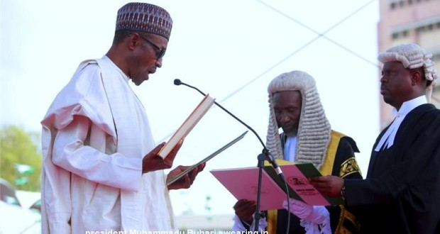 Image result for May 29 swearing in Nigeria