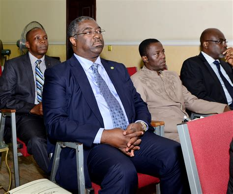 Head of apex tax authority in Nigeria, Tunde Fowler (Middle) in a stakeholders meeting recently