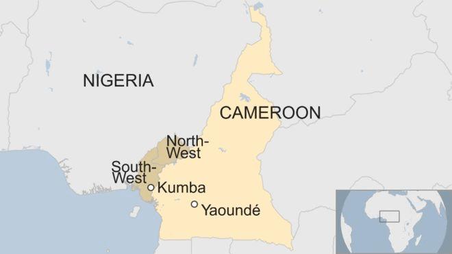 Kumba, Cameroon. Credit/BBC