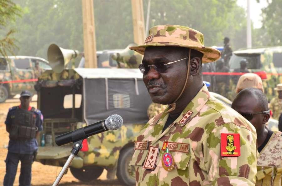 Nigerian Chief of Army Staff, Buratai