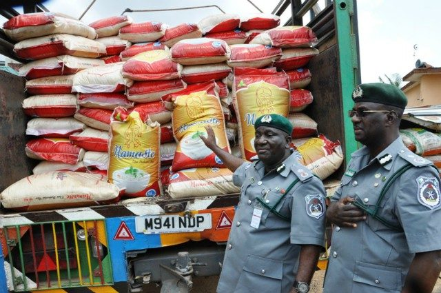 All foreign rice in Nigeria today is poisonous, says Customs boss