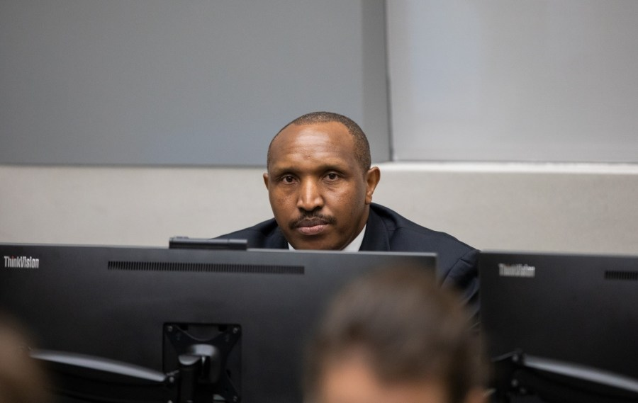 Bosco Ntaganda during the delivering of the judgment of ICC Trial Chamber VI at the seat of the Court in The Hague (The Netherlands) on 8 July 2019 ©ICC-CPI