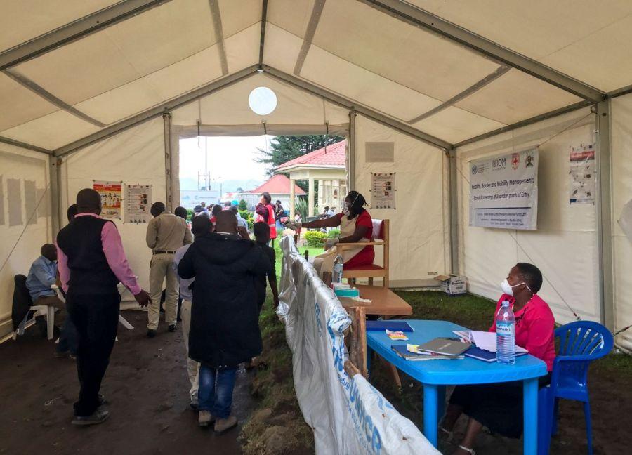 Uganda has Ebola screening points along its border with DR Congo