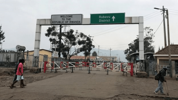 The border crossing has been closed after more cases were reported in Goma, eastern DR Congo. Credit/Reuters