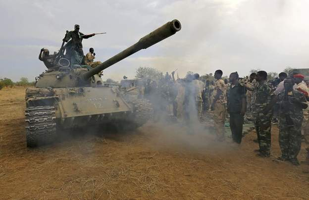 Sudan has been celebrating long-running wars in Darfur, South Kordofan and Blue Nile. Credit/AFP