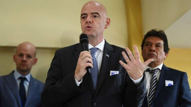 Infantino said he wanted African football to shine