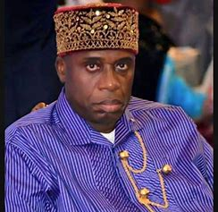 Nigerian Minister, Amaechi attacked by Nigerians in Spain