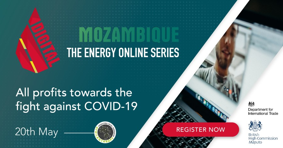 Mozambique's first charity Oil & Gas event goes live online on May 20th