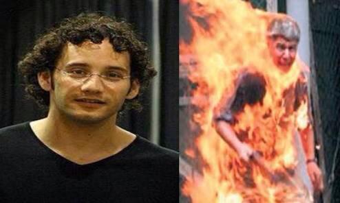 Bruce Mayrock self immolation on June 2nd 1969