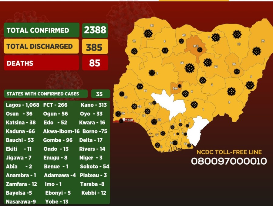 Nigeria eases lockdown amid terribly spiking COVID-19 Infections