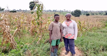 How Ghanaian maize farmer thrives on ashes of destroyed forest