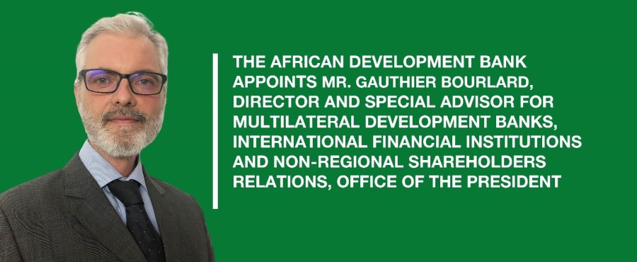 Belgian, Boulard appointed AfDB's Director and Special Advisor, President's Office