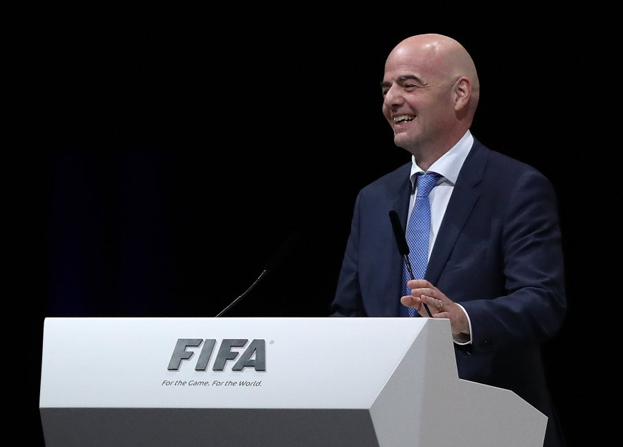 FIFA President supports African football's restart in Cameroon