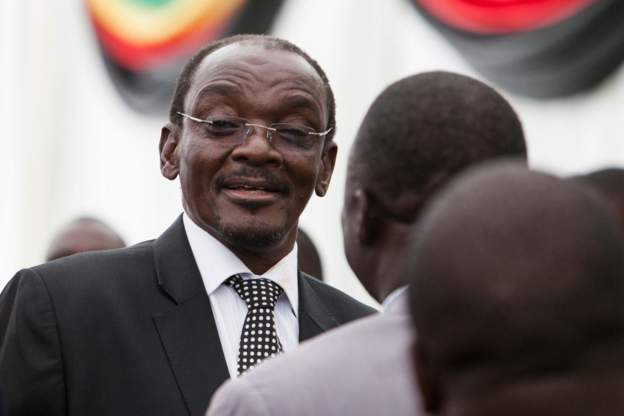 """Mr Mohadi, 71, repeated his defence that he was the victim of hacking and """"voice cloning"""" after an online newspaper published lurid phone call recordings with several women allegedly including a subordinate."""