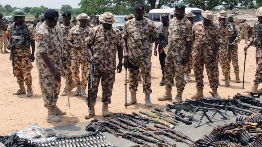 Even when it comes to the fighting there is the problem of weaponry, according to Mr Adamu, who says that the military is ill-equipped