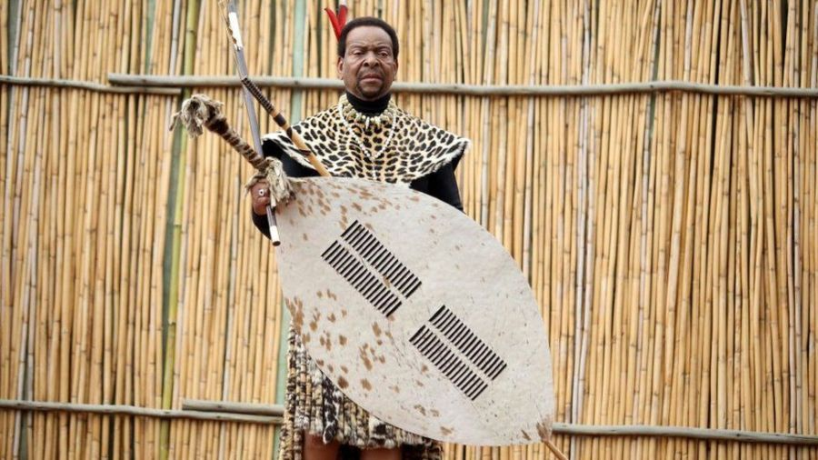 King Goodwill Zwelithini was on the throne for almost 50 years. Credit/BBC