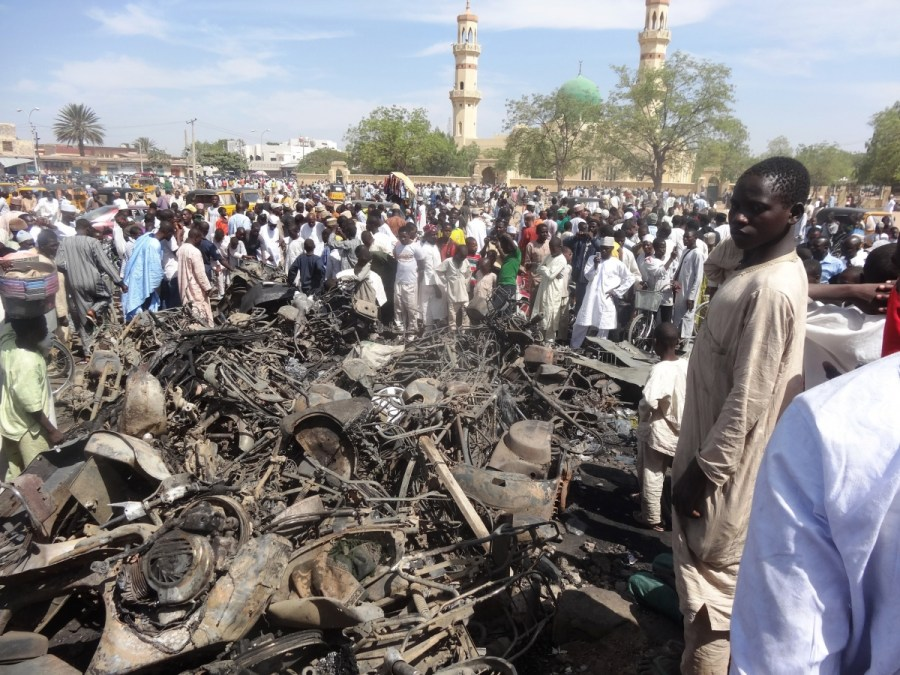 On November 27, 2015, a Boko Haram suicide bomber orchestrated a suicide bomb attack in Nigeria's Kano State which killed at least 21 people taking part in a Shia Muslim procession.
