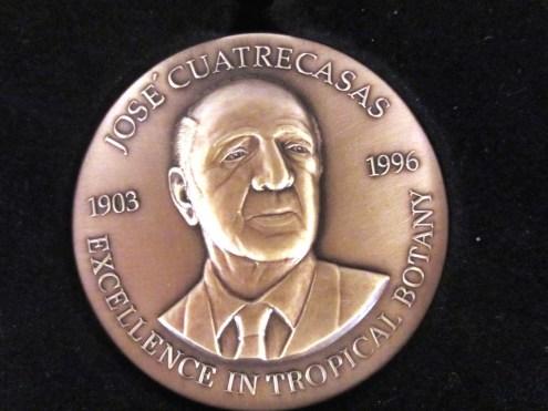 Alans Cuatrecasas Medal front
